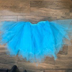 Bright baby blue Tutu